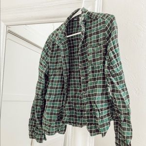 UO flannel size large (fits small)
